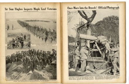 1916 WW1 Magazine SOMME Vosges GINCHY Asquith H.G.WELLS War BATTLE Italy (1110)